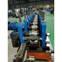 Buy cheap C / Z Purlin Roll Forming Machine , Sheet Metal Roll Forming Machines product