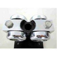 China Horizontal Movable Wall Hardware , Glass Partition Accessories Wheels on sale