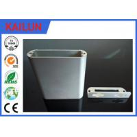 Buy cheap 6063 T5 Silver Anodizing Aluminum Extrusion Profiles for End Caps Aluminum Punching Parts from wholesalers