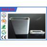 Buy cheap エンド キャップ アルミニウム打つ部品のための6063のT5銀の陽極酸化アルミニウム放出のプロフィール from wholesalers
