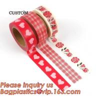 Buy cheap HAPPY VALENTINE'S DAY SERIES WASHI TAPE,Dia3.7cm Animal Flower Whale Washi Tape Diary Photo Album Decorative Tape DIY Pa product