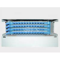 Buy cheap Sc Simplex Type 48 Ports Fiber Optic Odf Distribution Frame Stainless Steel ABS product