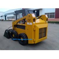 China New Technology Wheel Skid Steer Loader Rated Flux 40 L/Min With Steel Tyre Track on sale