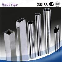 Buy cheap Tobee ® Chinese mirror polished 201stainless steel pipe in steel tube product