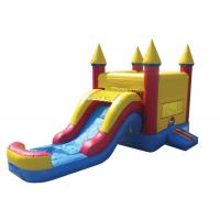 Buy cheap Giant Outdoor Games Inflatable Bouncer Combo Bouncer House With Slide Waterproof product