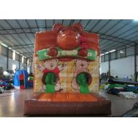 Buy cheap Lovely Obstacle Course Bounce House , Kids Inflatable Obstacle Course 3 X 9x 3m product