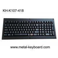 Buy cheap Ruggedized Backlight Keyboard Full Keys Metal Panel With Cherry Mechnical Switch product