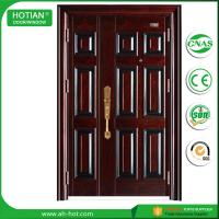 Buy cheap Indian House Gate Designs Steel Door Front Security Doors Single and Half Metal Skin Door product
