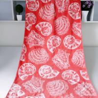 Buy cheap Seashell Linen Beach Towels / 100% Combed Cotton Bath Towel For Silver Wamsutta product