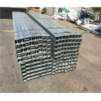 Buy cheap Stable Performance Galvanized Steel Tubing Square Sign Post Easy Installation product