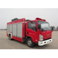 Buy cheap 6 Forward Gear Light Up Fire Truck , Pneumatic Lifting Poker Heavy Rescue Fire Truck product