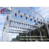 Buy cheap Arch Shape Aluminum Stage Truss , Outdoor Truss Structure Truss Display Systems from wholesalers
