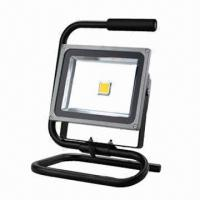 Buy cheap 30W LED Floodlight with stander, High Lumen Output and IP65 Protection Degree for Outdoor Use product