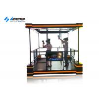 Buy cheap 7 ㎡ Area 9D Virtual Reality Simulator VR Shooting Tower Unlimited Walking Platform product