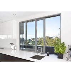 Buy cheap AS 2208 Single Glass Aluminium Sliding Windows Double Glazed product