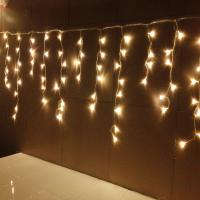 quality warm white led icicle light for sale