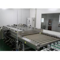 Buy cheap 1300 mm Glass Cleaning Equipment For PV Glass Panel / Horizontal Washing Machine product