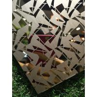 Buy cheap High Quality SUS 304 316 Bronze Coating Stainless Steel Pattern Sheet With Low Price product