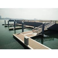 Buy cheap Sea Aluminum Boat Ship Gangway Customized Size 500mm Freeboard product