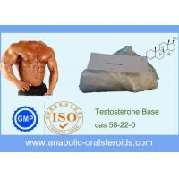 Buy cheap CAS 58-22-0 Powerful Injectable Testosterone Base For Muscle Mass and Strength product
