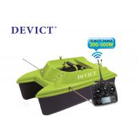 Buy cheap Green Remote control fishing bait boat DEVC-304M 300-500 M Range RoHS Certification product