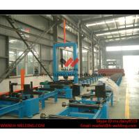 Buy cheap Automatic H Beam Assembly Machine With Two Sets Of Co2 Tack Welding 2000mm Web Height product
