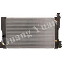 Buy cheap Toyota Corolla ZZE142 08 Aluminum Car Radiators AT OEM 16410-22180/16410-22181 0D481 product