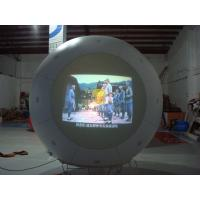 Buy cheap Giant 0.2mm PVC Projection Inflatable Helium Balloon for Political events product