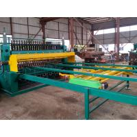 China PLC Controlled Deformed Steel Bar Mesh Welding Equipment For 5--12mm on sale