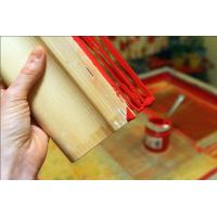 Buy cheap Uniform Hardness Wooden Squeegee Excellent Abrasion And Solvent Resistance product