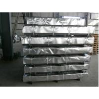 Buy cheap Zinc Hot Dipped Galvanized Steel Sheet / Sheets , Passivated ( Chromated ) product
