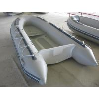 China Customized 1.0mm Hypalon Tube Aluminum RIB Boat Rigid Hull Inflatable Boat on sale