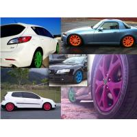 Buy cheap High Gloss Auto Spray Paint / Red Rubber Car Paint Spray CanImpact Resistance product