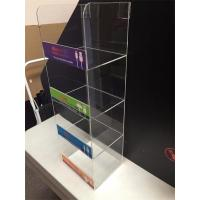 Buy cheap 4 Tier New Design Clear Acrylic Cell Phone Charger Display Supplier product