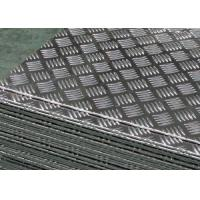 China 6061 6063 7075 Chequered Aluminium Plate 0.8-300mm  Thickness For Boat Deck on sale