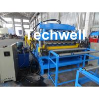 Buy cheap Steel Double Layer Roof Roll Forming Machine / Roofing Sheet Roll Forming Machine product