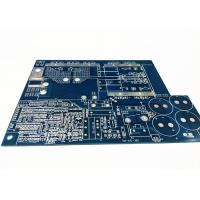 Buy cheap Blue Soldermask Electronics Circuit Board , Flex PCB Prototype With Immersion Gold product