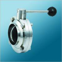 China DIN SANITARY CLAMP BUTTERFLY VALVE on sale