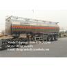 China Tri - axle Fuel tanker trailer utility fuel oil tank trailer wholesale