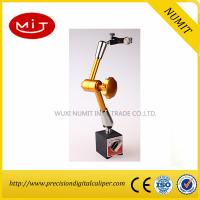 Buy cheap Yellow / Gold Hydraulic Indicator Magnetic Base Stand 80KGF Model YW -9A with Universal Arm product
