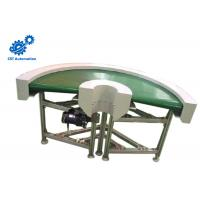 Buy cheap Green PVC Belt Belt Driven Conveyor 180 Degree Large Transmission Capacity product