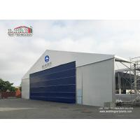 Buy cheap High Reinforce Aluminum Military Aircraft Hangar Tent Width 20m Fire Protection product