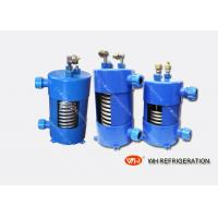 Buy cheap Vertical Type Titanium Heat Exchanger In Refrigeration System For Cooling product