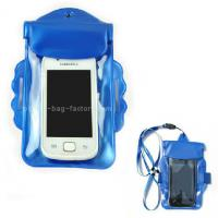 Buy cheap Promotional Gift Waterproof Case Bag , Underwater Phone Pouch With Armband / Landyard product