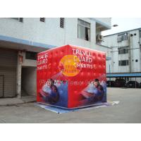 Buy cheap 3.5m attractive filled cube balloon with four sides digital printing for Political events product