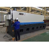 Buy cheap 18.5KW Guillotine Metal Cutting Machine With Germany ELGO P40 NC Control System product