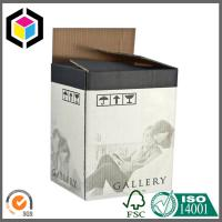 Double Wall BE Flute Corrugated Packaging Box with Flexo Black Color Print