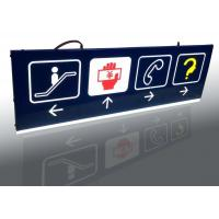 Buy cheap Shopping Mall Interior Wayfinding Signage , Double Sides Outdoor Wayfinding Signs from wholesalers