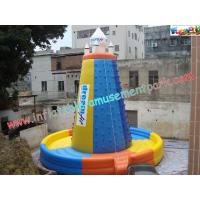 China Durable Inflatable Sports Climbing Games , Rock Climbing Game on sale