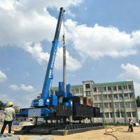 Buy cheap ZYC460 T-works  Hydraulic Static Pile Pressing Machines For Precast Pile Driving Of Foundation product